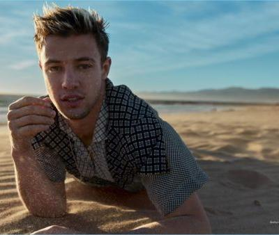 Cameron Dallas Takes to the Beach for Harper's Bazaar Men Thailand