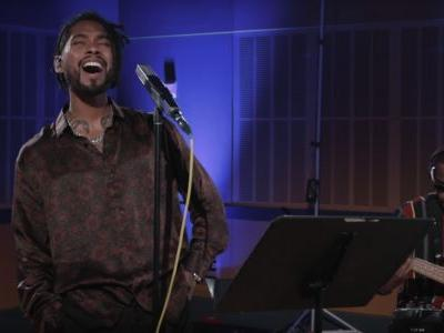 "Miguel Shares New Song ""Python"" And A Cover Of Red Hot Chili Peppers' ""Porcelain"""