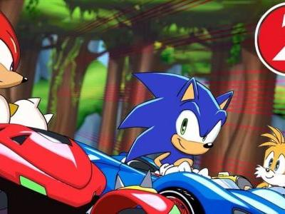 Team Sonic Racing Gets Second Overdrive Animation