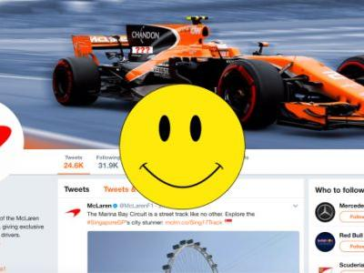Everything Is Totally Fine On McLaren-Honda's Twitter, Why Do You Ask