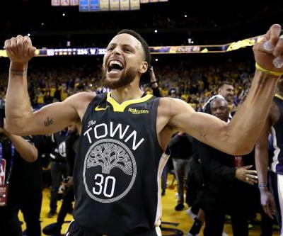Stephen Curry and Warriors pour it on late to grab 2-0 lead