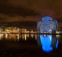 The Convention Centre Dublin flies the flag for Ireland as best convention centre