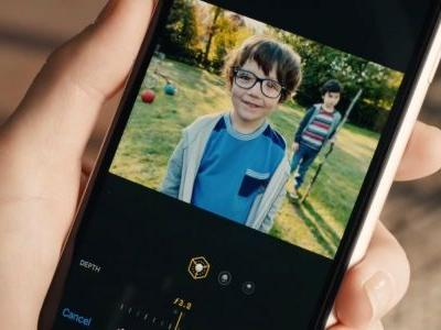 Comical iPhone XR ad shows off Portrait Mode Depth Control: 'Did you bokeh my child?'
