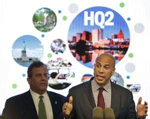 The Latest: Christie signs bill offering Amazon tax credits