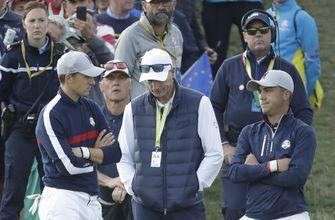 Americans try to regroup as Europe has 5-3 lead in Ryder Cup