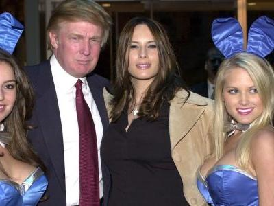Former Playboy bunny says Trump flew her around the country and introduced her to his family while they were having an affair