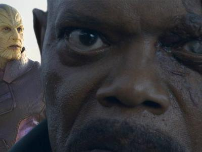 Captain Marvel Theory: How Nick Fury Loses His Eye