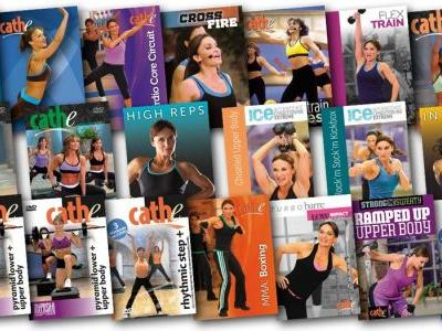 Cathe's June 2018 Workout Rotation