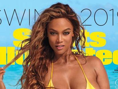 Tyra Banks Graced the Cover of the 'Sports Illustrated' Swimsuit Issue at 45 Like a Total Queen