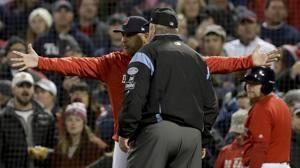 Sale, Cora make early exits for Red Sox in ALCS Game 1
