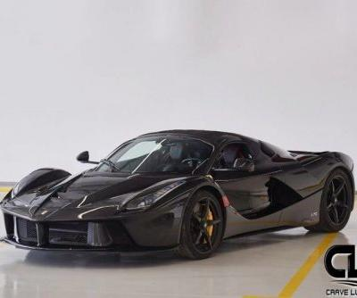 This LaFerrari Aperta For Sale May Fetch Up To R120 Million