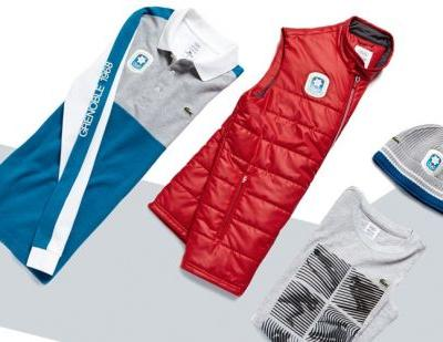 Lacoste celebrates Olympic heritage with new apparel line