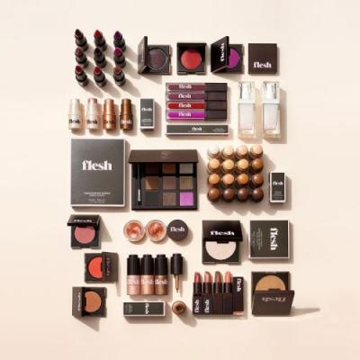 """Two Editors With Different Skin Tones Try Linda Wells' New """"Flesh"""" Makeup Line"""