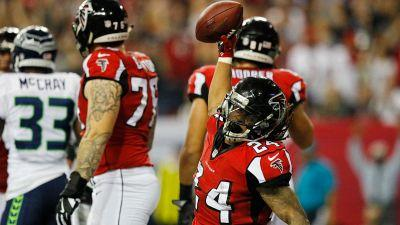 Seahawks miscues were non-factors in Falcons' blowout win