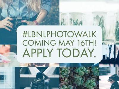 Calling All Photographers: Participate in Berkeley Lab's Physics Photowalk Competition on May 16