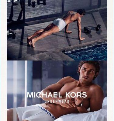 Wouter Peelen Reunites with Michael Kors for Spring '18 Underwear Campaign