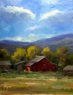 Down on the Farm by artist Pat Meyer