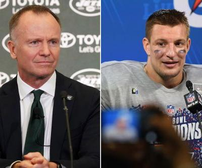 Jets celebrate the 'good news' with Rob Gronkowski retirement