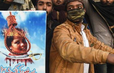 Eighty-six Pakistani Islamists handed decades in prison for role in violent rallies over Christian woman's blasphemy acquittal
