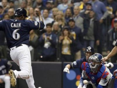 C Grandal out of Dodgers lineup after rough NLCS Game 1