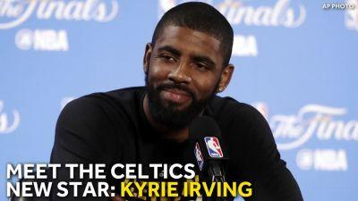 Kyrie Irving acquired by Celtics in blockbuster trade