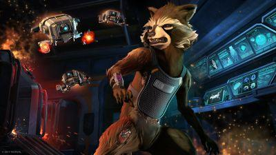 Episode two of Telltale's Guardians of the Galaxy is 'Under Pressure'