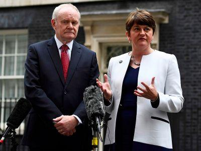 May, Corbyn, and Blair react to the death of Martin McGuinness
