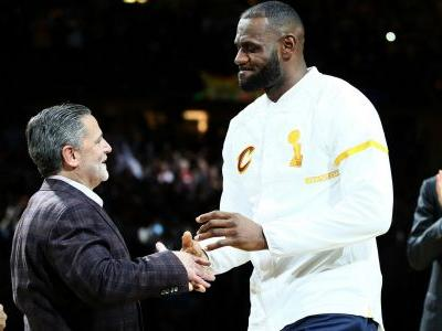 Cavaliers owner Dan Gilbert thanks LeBron James in statement addressing his departure