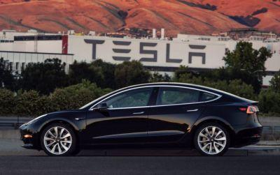 Take a look at the very first production Tesla Model 3
