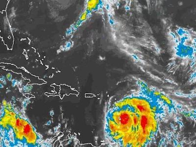 Hurricane Maria upgraded to Category 5 storm with wind speeds near 160 mph