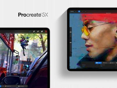 Procreate 5X adds new features and deeper support for Apple Pencil