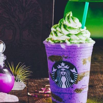 What Does Starbucks' Witch's Brew Frappuccino Taste Like? It's A Scary Good Sip