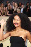 Yara Shahidi's Natural Hair Was Absolutely Everything at the 2018 SAG Awards