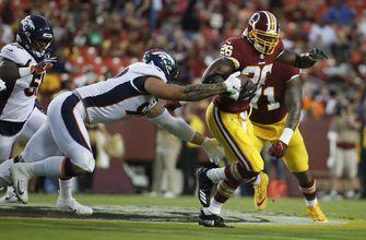 Adrian Peterson impresses for Redskins; Darnold solid again