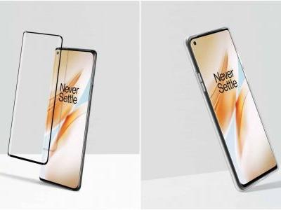 OnePlus 8 Series Screen Protector & Transparent Bumper Case Leak