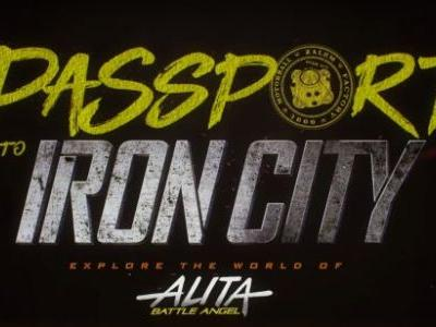 'Alita: Battle Angel - Passport to Iron City' Immersive Experience Transports You to a Cyberpunk Dystopia