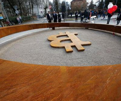 A city in Slovenia just unveiled the world's fist blockchain monument - check it out