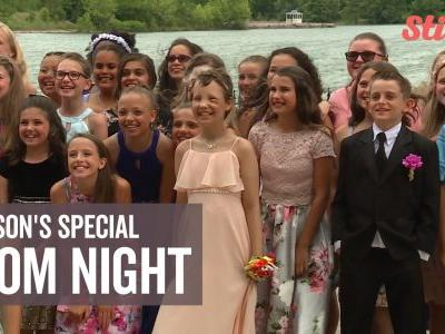 11-year-old girl battling bone cancer gets prom wish come true