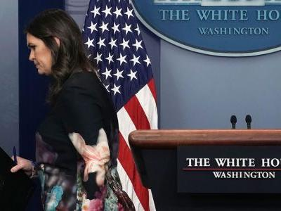WH Press Buries Sarah Sanders on Her Way Out Over Briefing Drought: 'Help Wanted: Once a Year, Maybe Less'