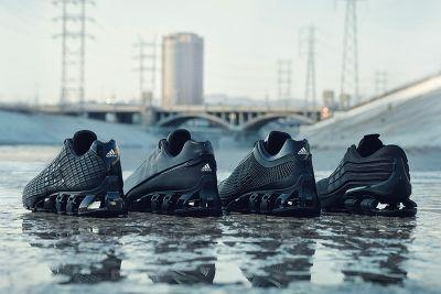 """Adidas Links up With Porsche Design on an All-Black """"Bounce Chronicles"""" Collection"""