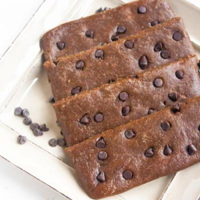 Mocha Chocolate Chip Protein Bars