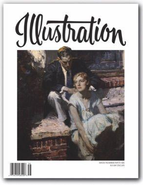 Saul Tepper in Illustration Magazine