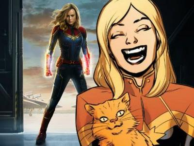 Captain Marvel's Poster Has A Chewie Easter Egg