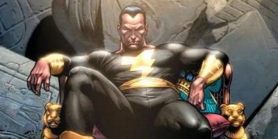 Dwayne Johnson Will Star in a 'Black Adam' Standalone Movie