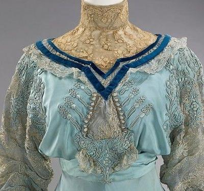 Up Close: Paquin Afternoon Dress, 1906-1908