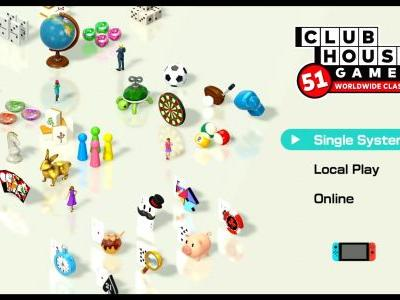 What Are the Multiplayer Options in Clubhouse Games on Switch?