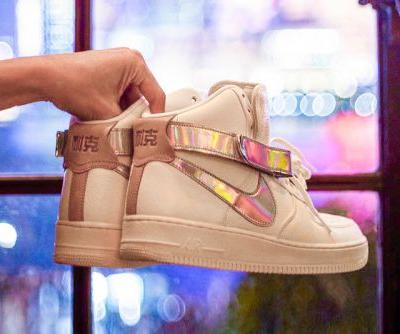 Nike's Next China-Exclusive Air Force 1 High Nods to The Bund in Shanghai