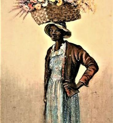Flower Seller From the American South