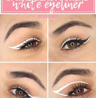 How to Wear White Eyeliner Looks for Spring