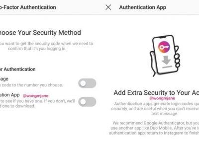 Instagram to Introduce Non-SMS Two-Factor Authentication to Prevent SIM Hacking